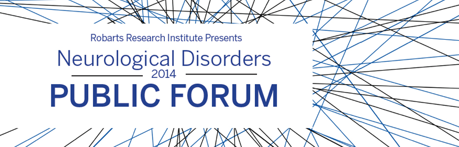 Neurological Disorders Public Forum 2014