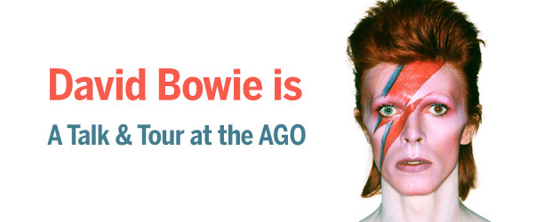 Toronto Lecture David Bowie Is Fall 2013