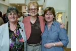 Gloria Leckie at retirement party