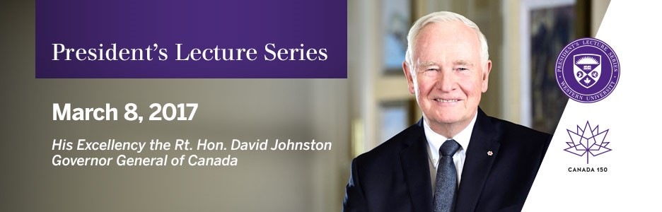 President Lecture David Johnston
