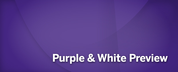 Purple & White Preview