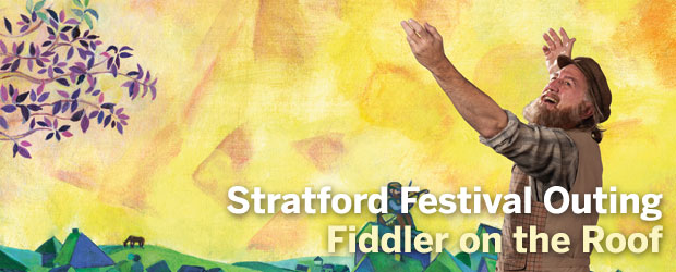 Stratford Banner Fiddler on the Roof