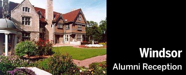 Windsor Alumni Reception