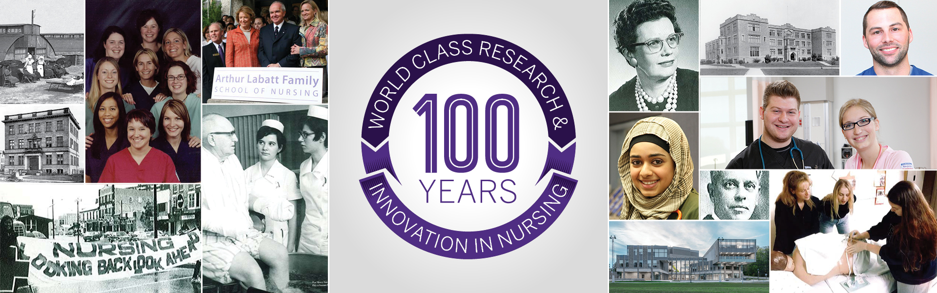 100 Years - World class research and innovation in nursing
